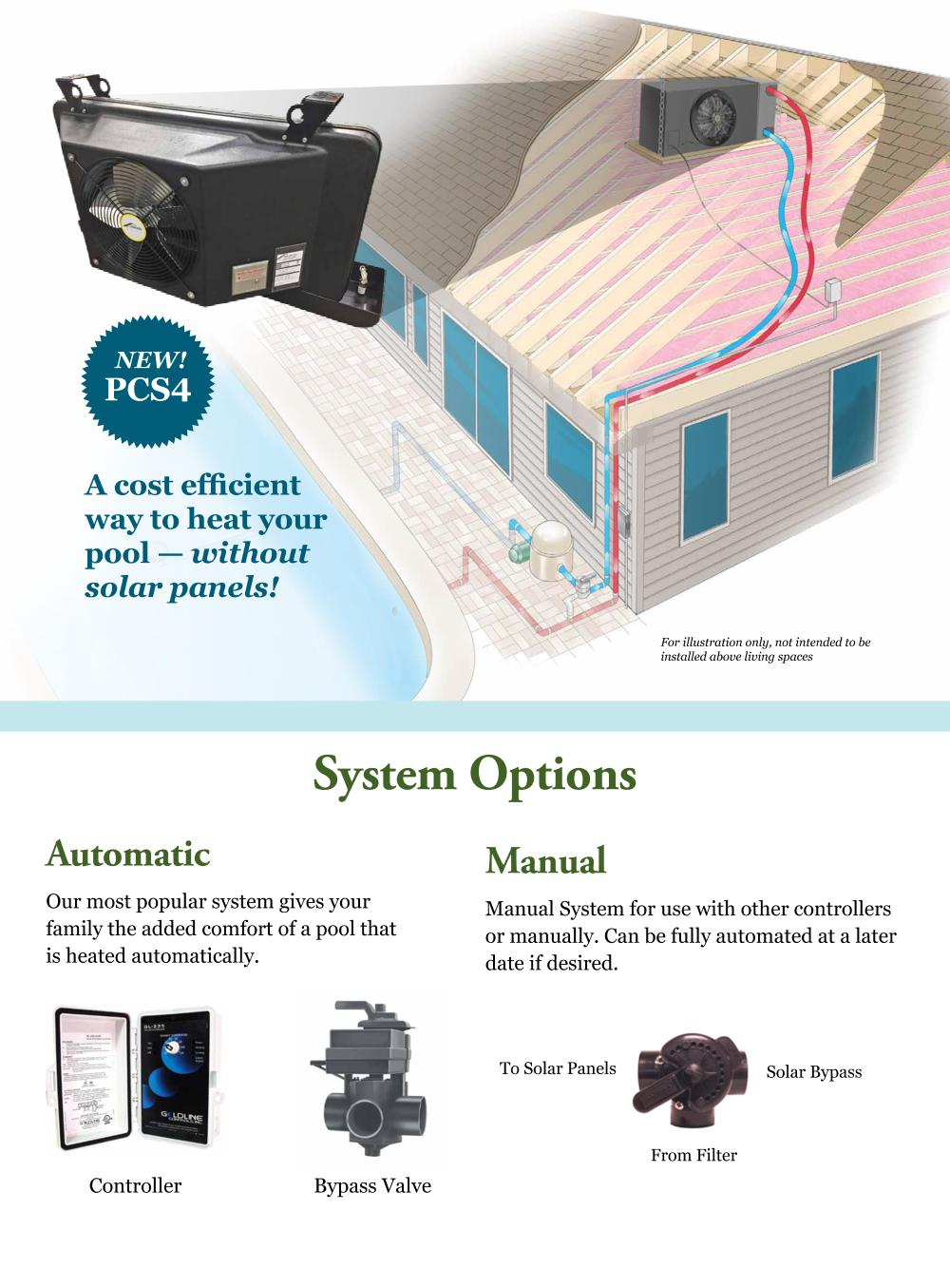 SolarAttic System Options Graphic Image